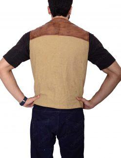 john wayne leather vest