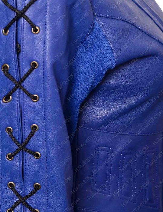 dutch blue leather jacket