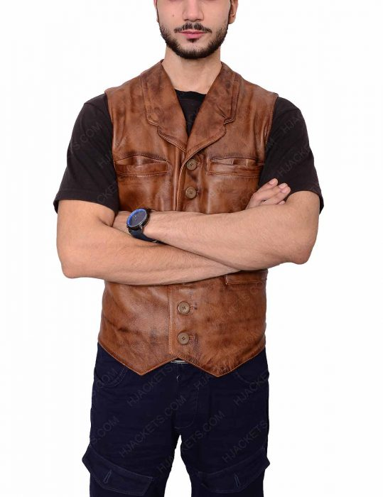 Wil Andersen The Cowboys Leather Vest