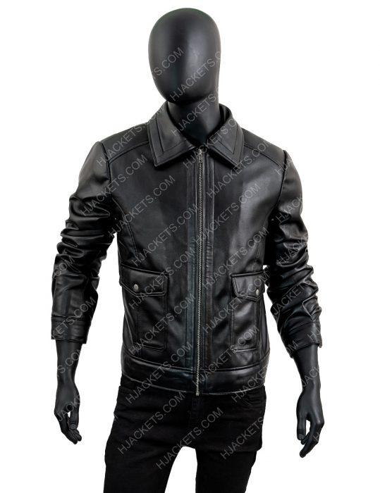Black-Zipper-Leather-Jacket