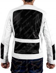 Deadpool 2 Lewis Tan Black and White Jacket
