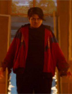 deadpool 2 russell red hoodie