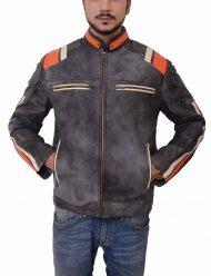 cafe racer grey jacket