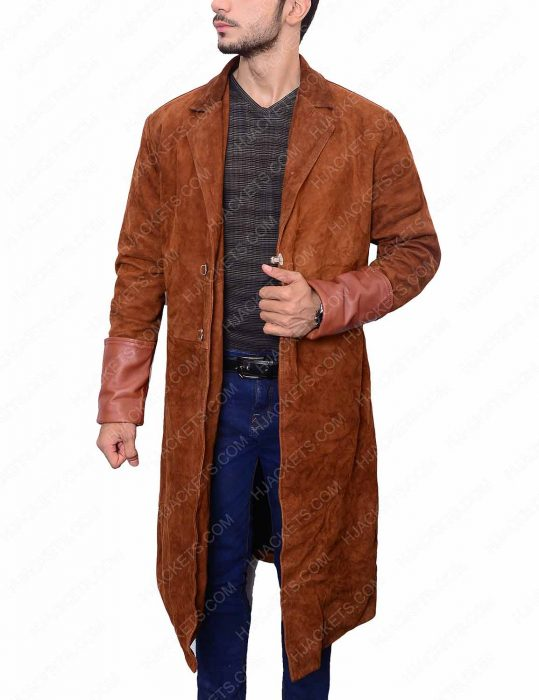 captain malcolm brown leather coat