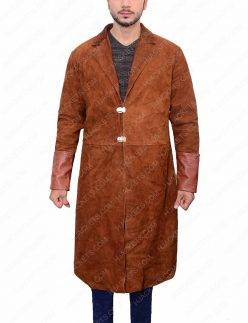 captain malcolm leather coat