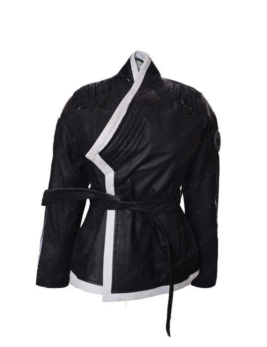deadpool 2 yukio black coat