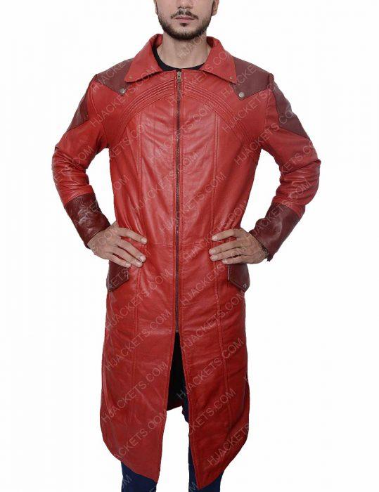 dmc dante trench leather coat