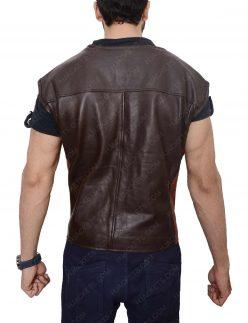 dyson thornwood dark brown vest