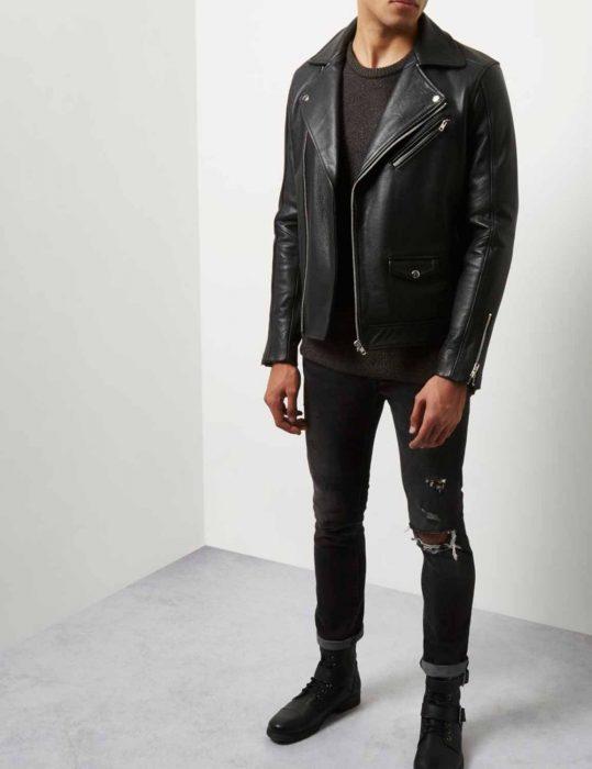 flynn noah leather jacket