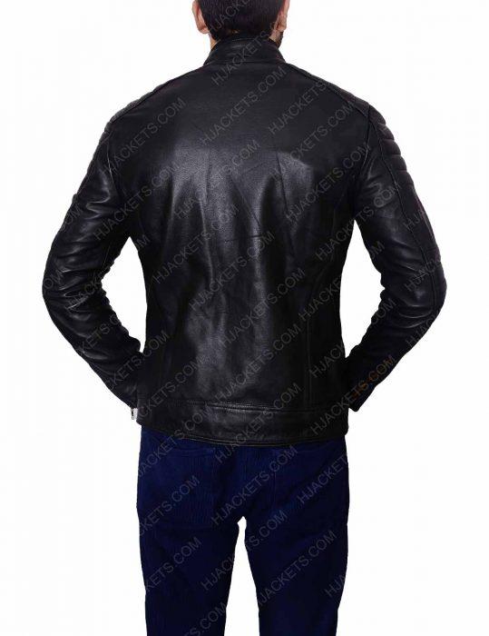 john barrowman arrow leather jacket