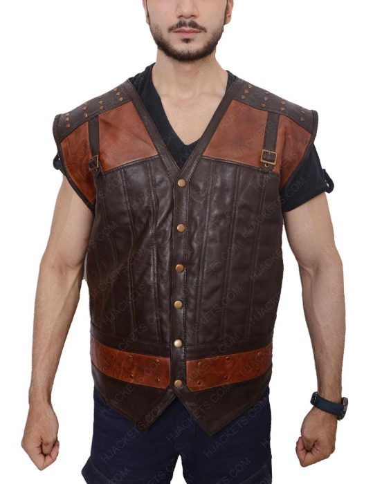 lost girl kris holden ried brown vest