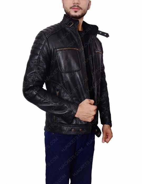 malcolm merlyn john barrowman leather jacket