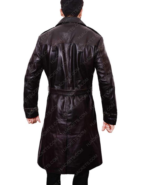 mystic river jimmy markum leather jacket