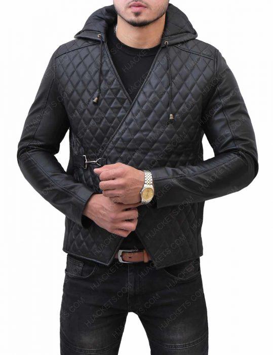 robin-hood-taron-egerton-black-jacket