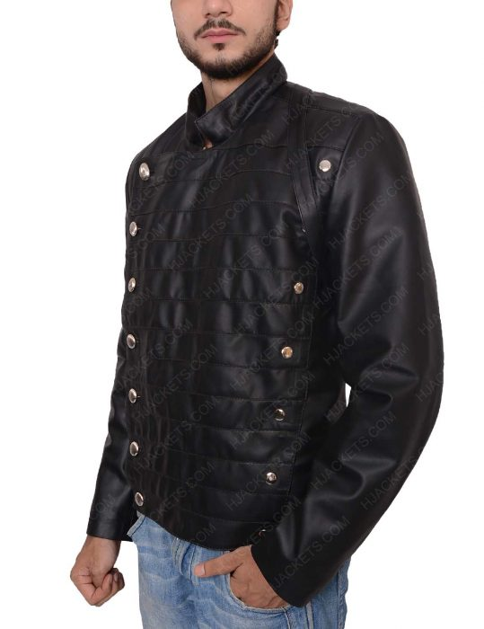 rodrigo santoro military black jacket
