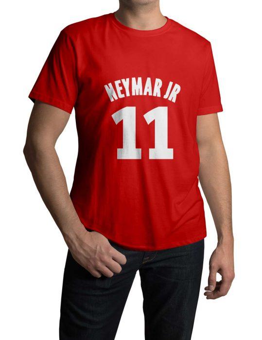 Neymar red T-Shirt