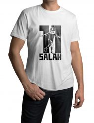 mohamed salah 11 white shirt