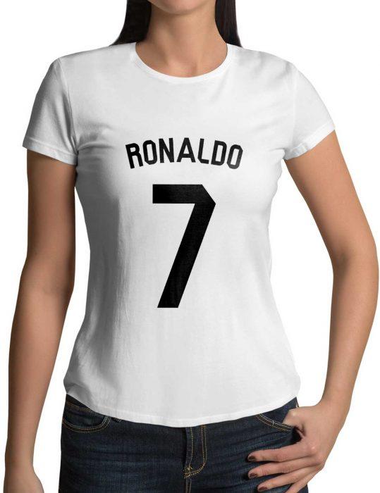womens Cristiano Ronaldo 7 Number Shirt