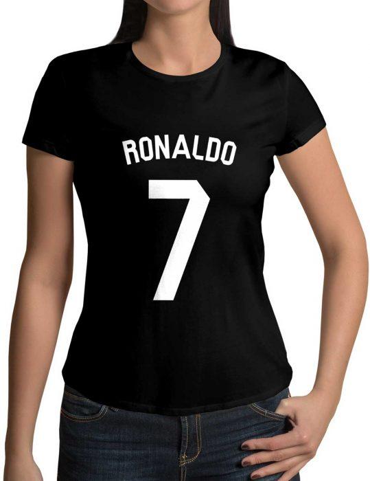 Cristiano Ronaldo 7 black Shirt