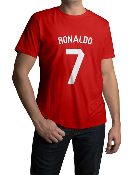 cristiano ronaldo 7 t-shirt