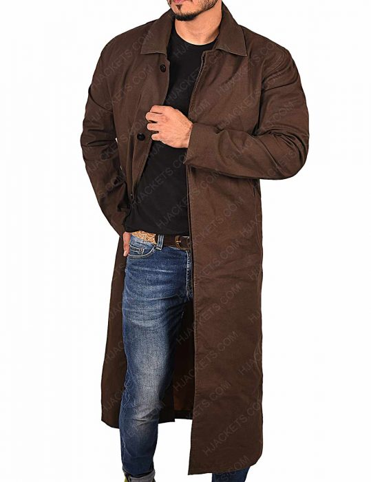 Mission Impossible Fallout Henry Cavill Leather Coat
