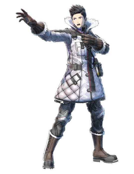 Valkyria Chronicles Video Game Leather Coat