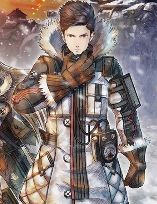 Video Game PS4 Valkyria Chronicles Coat