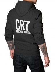 cristiano ronaldo grey hoodie