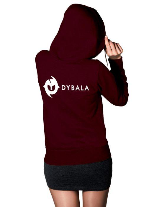 dybala-women-maroon-hoodie