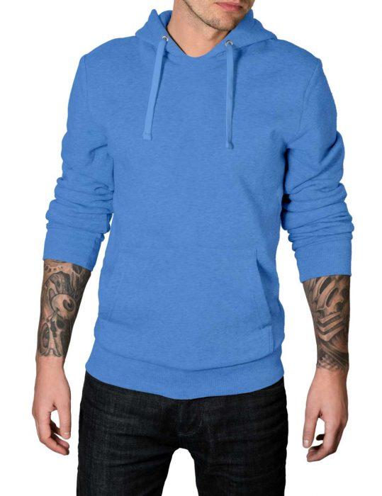 mens blue hoodie
