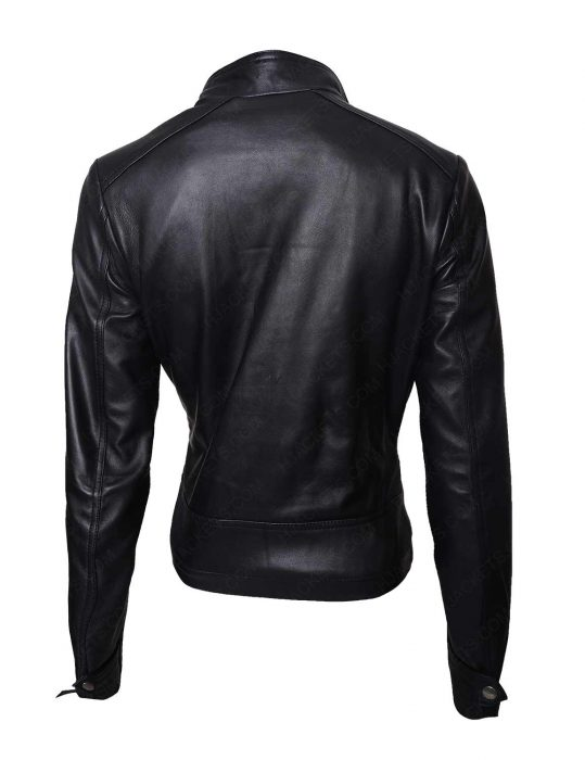 game night annie leather jacket