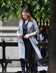 ilsa faust wool coat