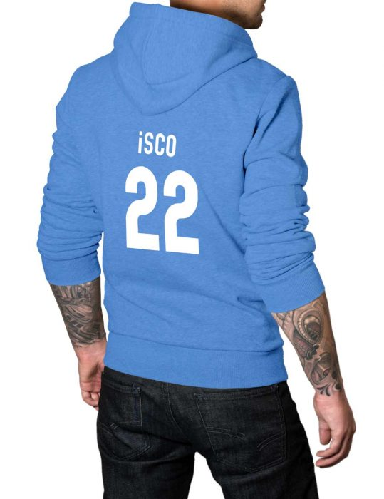isco 22 blue pullover hoodie