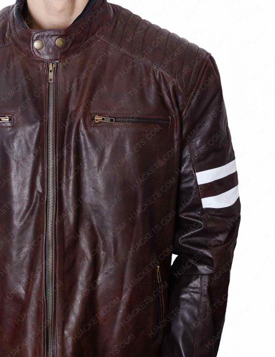joe rocket 92 brown leather jacket
