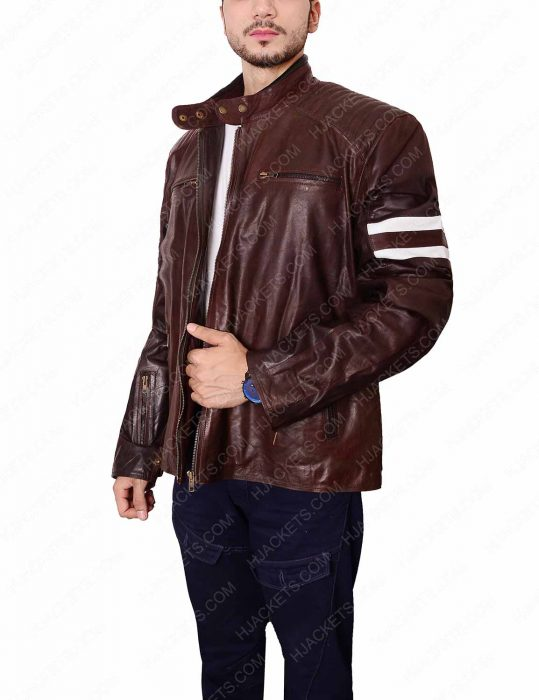 joe rocket 92 cafe racer leather jacket