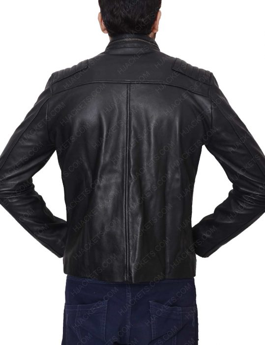 jordan calloway riverdale black leather jacket