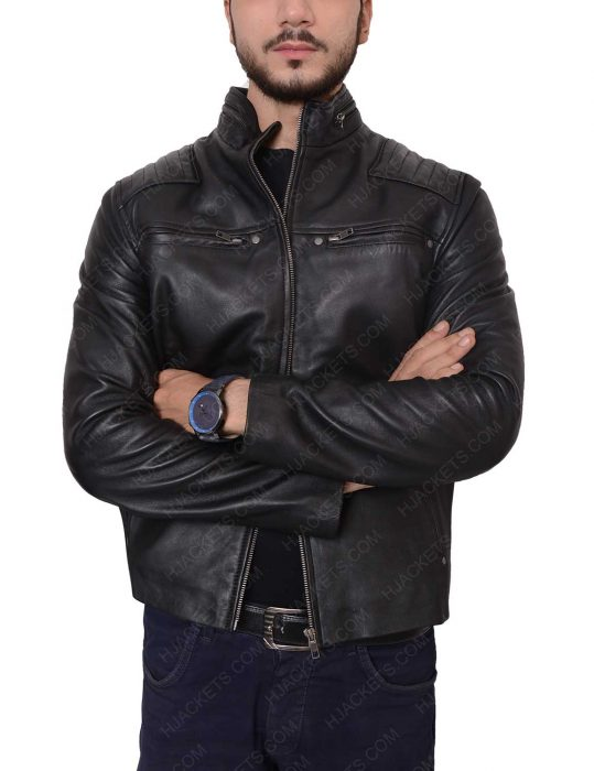 jordan calloway riverdale leather jacket