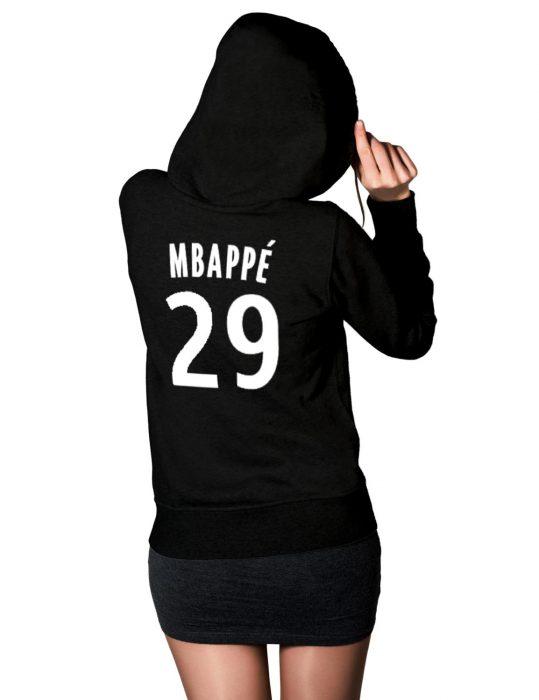 mbappe-women-black-hoodie