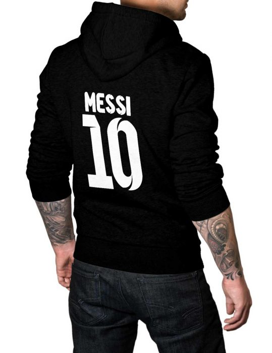 lionel messi pullover hoodie