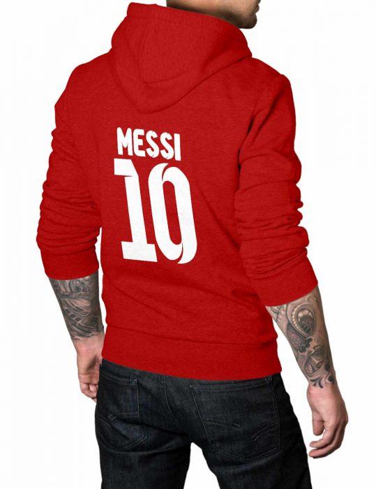 messi-red-hoodie