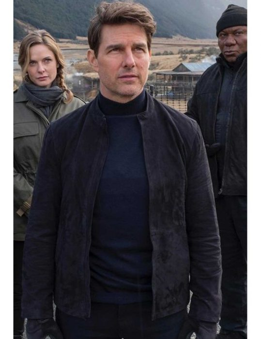 mi6 fallout ethan hunt suede leather jacket