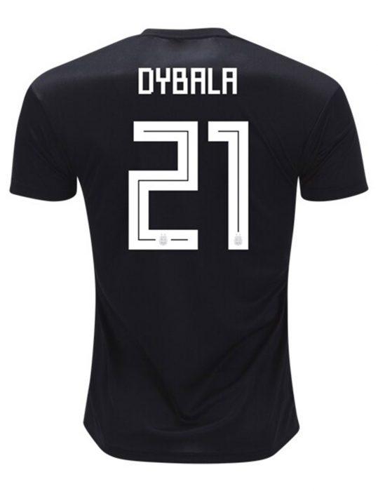 paulo dybala black shirt