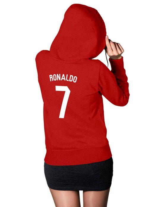 womens cristiano ronaldo 7 hoodie