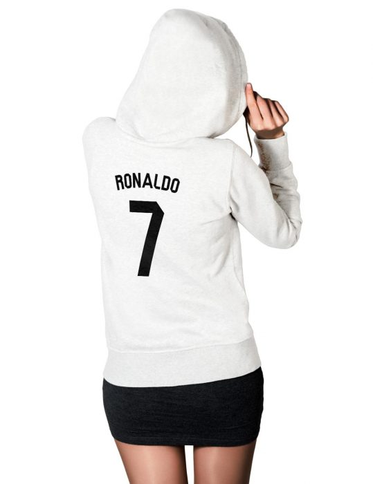 cristiano ronaldo 7 womens hoodie