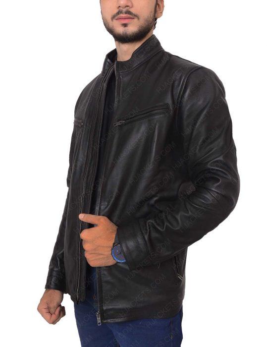 rustin cohle matthew mcconaughey leather jacket