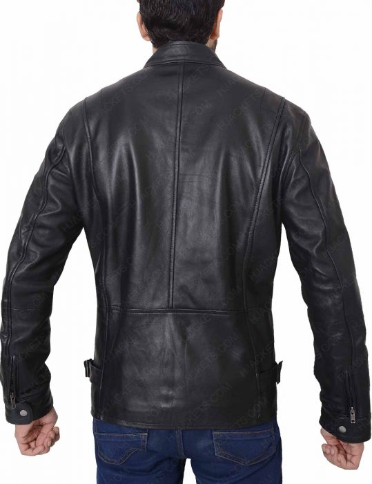 rustin cohle true detective leather jacket