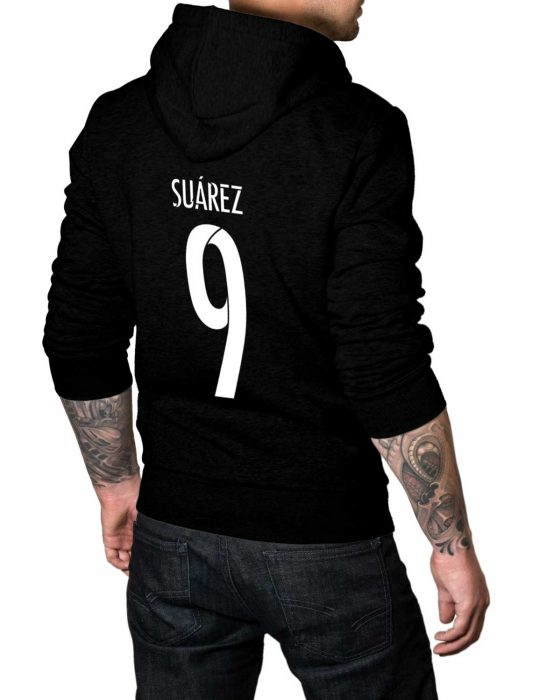 suarez 9 black hoodie