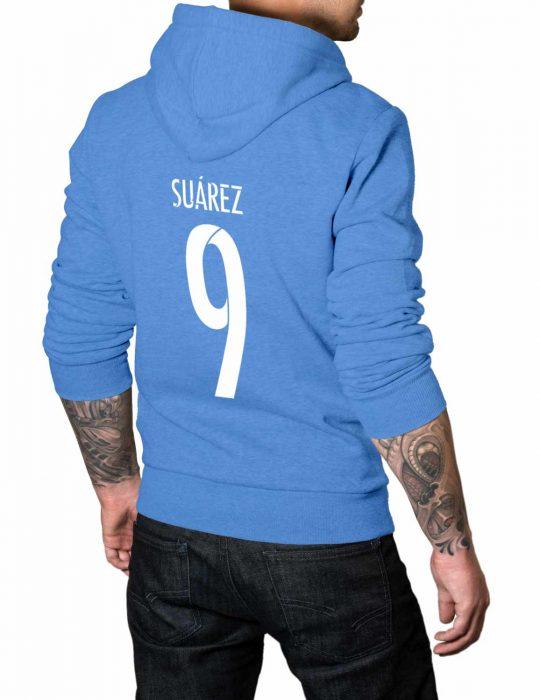 suarez 9 blue hoodie