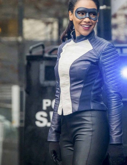 the flash season 4 iris west jacket