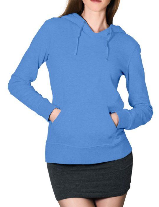 womens-blue-hoodie